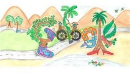Children's Day 2019 : डुडलमागची संकल्पना आहे ७ वर्षांच्या मुलीची