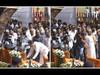 शिवतीर्थावर बाळासाहेब ठाकरे यांच्या स्मृतीस्थळावर अभिवादन करताना उद्धव ठाकरे ( Kunal patil)
