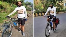 मराठी साहित्य संमेलनासाठी पुणे टू उस्मानाबाद सायकल प्रवासाचा ध्यास