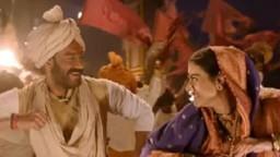 अजयनं सांगितला 'तान्हाजी'मध्ये काजोलसोबत काम करण्याचा अनुभव