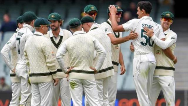 ऑस्ट्रेलियन संघाचा दमदार विजय