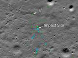 नासाने चांद्रयान-२ च्या विक्रम लँडरला शोधले, छायाचित्र केले जारी  (Twitter/NASA)