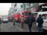 दिल्लीत ४ मजली इमारतीला भीषण आग, ३२ जणांचा मृत्यू (ANI)