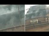 दिल्लीत इमारतीला आग