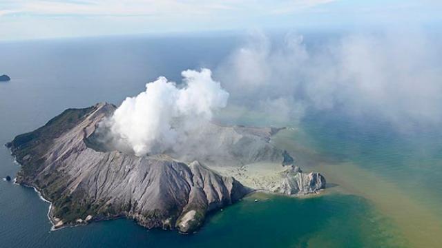 न्यूझीलंड ज्वालामुखी