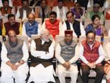 भाजप संसदीय पक्षाची बैठक (फोटो - विपीन कुमार)