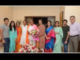 मुख्यमंत्री उद्धव ठाकरेंनी कुटुंबियांसह घेतली शरद पवारांची भेट
