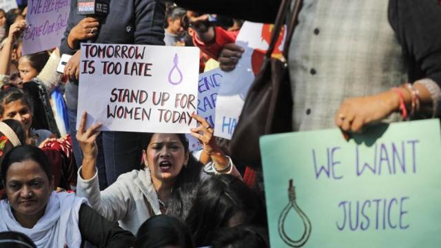 महिलांवरील अत्याचाराविरोधात देशभर निदर्शने करण्यात आली. (संग्रहित छायाचित्र)