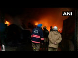 दिल्लीत लाकडाच्या वखारीला आग
