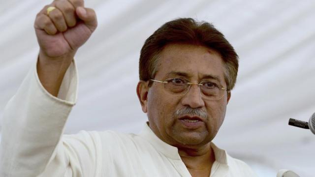 पाकिस्तानचे माजी अध्यक्ष परवेज मुशर्रफ