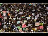 सुधारित नागरिकत्व कायद्याविरोधात मुंबईत आंदोलन (Photo by Satish Bate)