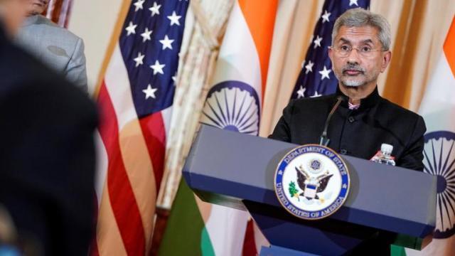 परराष्ट्र मंत्री एस जयशंकर