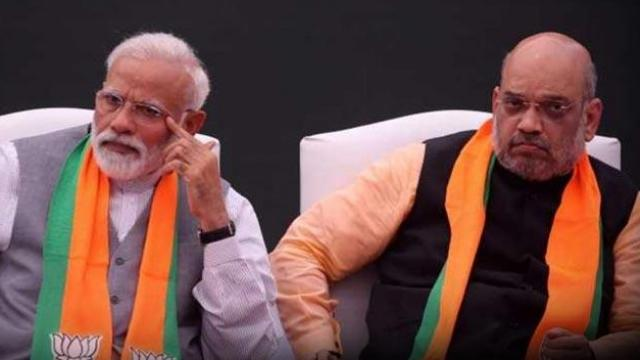 पंतप्रधान नरेंद्र मोदी आणि गृहमंत्री अमित शहा