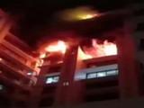 विले पार्ले येथील इमारतीला आग