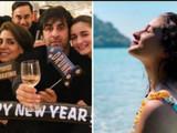 आलिया भटने रणबीर कपूरच्या कुटुंबियांसोबत केले नववर्षाचे स्वागत