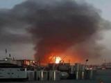 इराकमध्ये अमेरिकेच्या लष्करी तळावर, दुतावासावर रॉकेट हल्ल्यासह बॉम्बफेक
