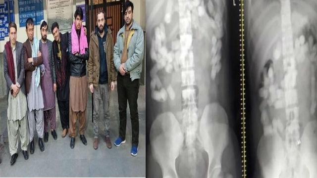 ७ अफगाणिस्तानी नागरिकांना अटक