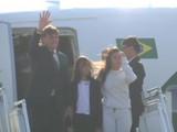 प्रजासत्ताक दिनः ब्राझीलचे राष्ट्राध्यक्ष मुलांसह दिल्लीत दाखल (ANI)