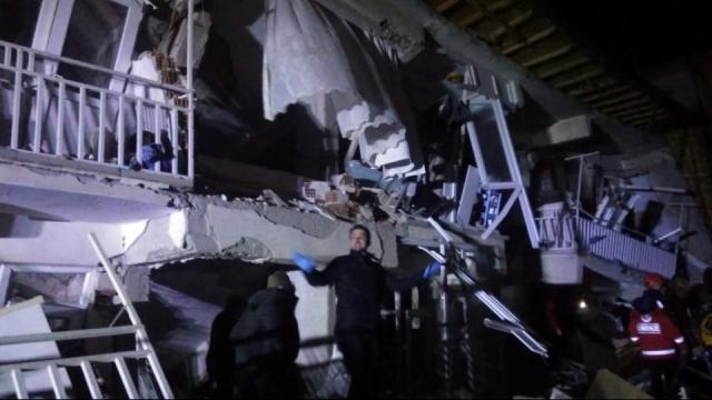 तुर्कस्तान भूकंप