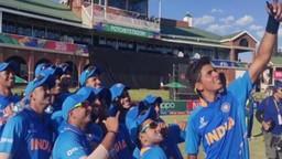 ICC U19 World Cup: ऑस्ट्रेलियाला पराभूत करुन भारत सेमीफायनलमध्ये