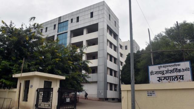 कोरोनाच्या संशयितांना डॉ. नायडू रुग्णालयात दाखल करण्यात आले आहे.