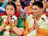 चिनी महिलेचा भारतात विवाह