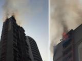नवी मुंबईतील टॉवरला आग