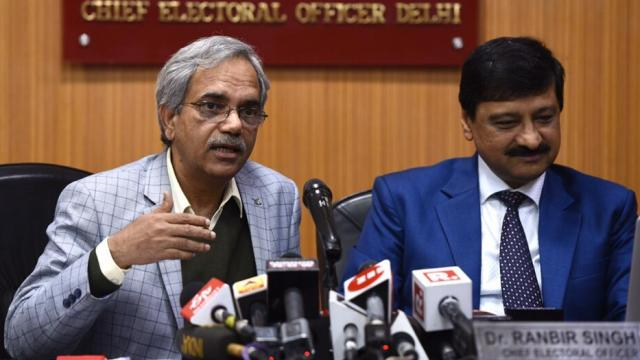 दिल्लीत ६२.५९ टक्के मतदान, २४ तासांनतर निवडणूक आयोगाची माहिती (Photo:Burhaan Kinu/ Hindustan Times)