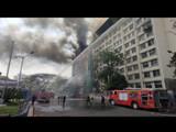 जीएसटी भवनला आग