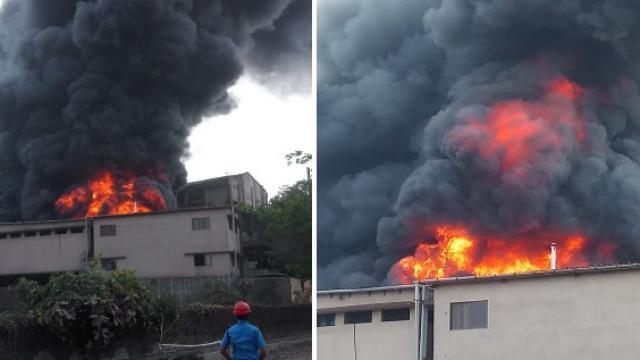 डोंबिवली एमआयडीसीतील कंपनीला भीषण आग लागल्याची घटना घडली आहे.