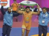 आशियाई कुस्ती चॅम्पियनशिपमध्ये सुनील कुमारने ऐतिहासिक कामगिरी केली आहे.