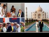 ट्रम्प दोन दिवसीय भारत दौऱ्यावर आहेत.