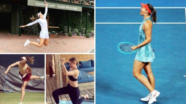 रशियन ब्यूटी मारिया शारोपोव्हाने टेनिसमधून  निवृत्ती घेतल्याची घोषणा केली आहे.