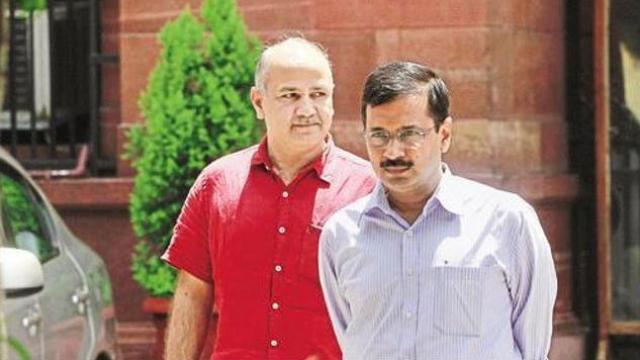 दिल्ली मुख्यमंत्री आणि उपमुख्यमंत्री