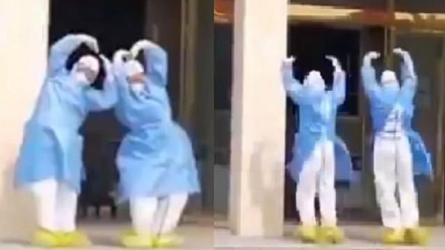 डॉक्टरांचा डान्स
