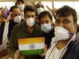 ११९ भारतीय २० दिवसांनी मायदेशी परतले