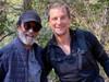 बेयर ग्रिल्स जानेवारी महिन्यात भारतात आला होता.