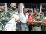 जवानाचं जळलेलं घर उभारण्यासाठी BSFचा पुढाकार