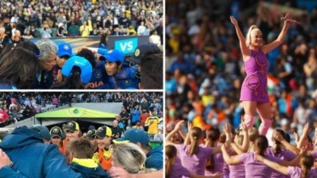 महिला टी-20 विश्वचषकाच्या फायनलमध्ये विक्रमी गर्दी पाहायला मिळाली. ( टी-20 वर्ल्ड कप ट्विटर)