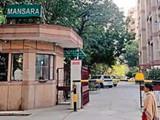 दिल्लीतील अशोक नगरमधील घटनास्थळाचे छायाचित्र
