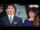 कॅनडाचे पंतप्रधान जस्टिन ट्रूडो आणि त्यांच्या पत्नी