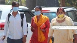 भारतात कोरोना विषाणूचा संसर्ग झालेल्यांची संख्या वाढते आहे. पण त्याचे प्रमाण कमी आहे.