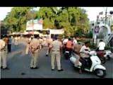 विनाकारण दुचाकी चालवणाऱ्यांवर सांगली पोलिसांची कारवाई