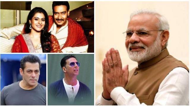 पंतप्रधानांकडून बॉलिवूड कलाकारांचे कौतुक