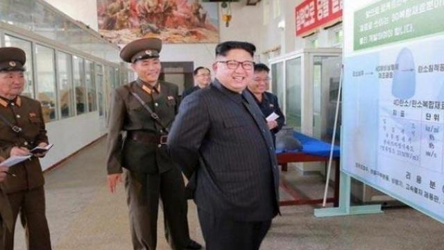 उत्तर कोरियाचे हुकुमूशहा किम जोंग उन