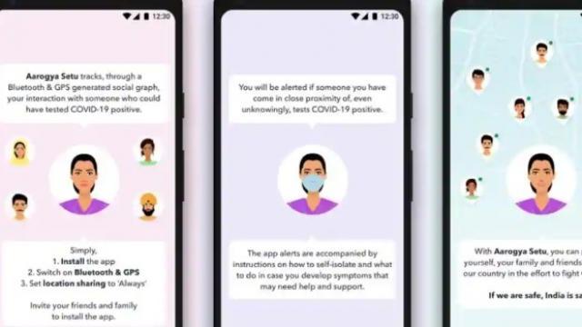 सरकारने Aarogya Setu नावाचे एक स्मार्टफोन अॅप लाँच केले आहे.