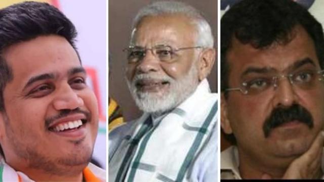 रोहित पवार, पंतप्रधान नरेंद्र मोदी, जितेंद्र आव्हाड
