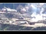 भारताने LOC वर केलेल्या कारवाईत १५ पाकिस्तानी सैनिक आणि ८ दहशतवादी ठार (Screenshot/video sourced)