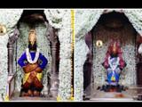 अक्षय तृतीया निमित्ताने श्री विठ्ठल रूक्मिणी मंदिरात विठुरायाच्या आणि रूक्मिणी मातेच्या मंदिरात मोगर